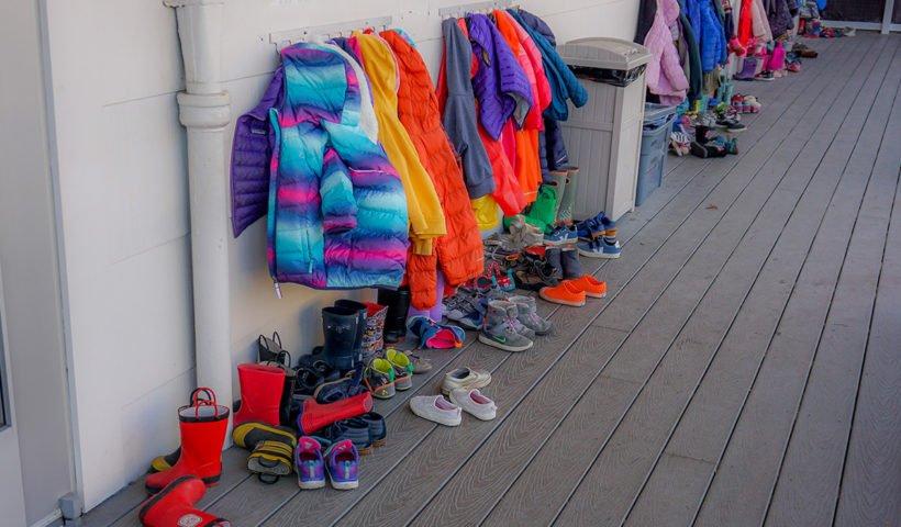 Kids Raincoats and Shoes